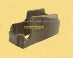 MICAIRSOFT Never Quit Magazine Well Grip for M4 Magwell